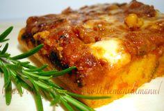 Polenta pasticciata al forno, Ricetta polenta