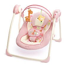 Bright Starts Baloico Comfort And Harmony Portable Swing Girafaloo Baby Shower Gifts, Baby Gifts, Shower Baby, Giraffe Nursery, Girl Nursery, Baby Equipment, Baby Bassinet, Baby Swings, Babies R Us