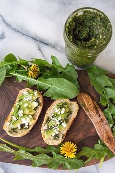 dandelion pesto recipe