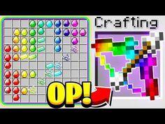 How To Play Minecraft, Minecraft Mods, Minecraft Crafts, Minecraft Ideas, Godzilla Figures, Crafting Recipes, Rainbow Bow, John Wick, Slime