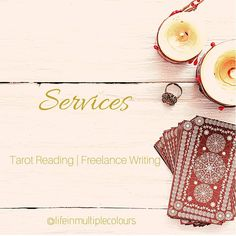 Overview of my services with tarot and freelance writing 🔮 . . First a little bit about myself ☺️ I'm a tarot reader, freelance writer and artist with an inherited gift of claricognizace and eclectic witchcraft. And I'm also a cultural anthropology major as well. In my tarot practice I do not only function as a messenger for your guides, but also provide you with practical advices so you can digest the messages better. I have a way with words, that's why I want to utilize it as well to… Anthropology Major, Tarot Readers, Witchcraft, Writer, Messages, Reading, Words, Gift, Artist
