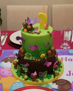 Birthday Cake Ideas Enchanted Forest Theme : Enchanted Forest Cakes on Pinterest Enchanted Forest ...