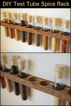 This spice rack project is a quick and easy project that you can finish in a couple of hours.