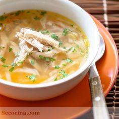 He aquí una sopa que adoro. Aromas caseros, rica y suave.