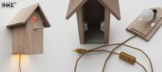 Vogelhuislamp - birdhouse lamp