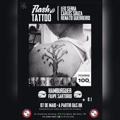 Instagram #skateboarding photo by @bigstationskatesurfshop - Contamos com sua presença  no dia 07/05 FLASH TATTOO aqui na Big Station com 3 tatuadores para atendermos todos ainda teremos DJ e pra completar a festa HAMBÚRGUERES com FELIPE SARTORIO no comando venham conferir #vilamaria #tattoo #tatuagens #leoserratattoo #tattooartist #carlostattooart #skatelife #skateboarding #surf #skatetattoo #flashtattoos #renatoguereiro#promocaodetattoo#bemvindosanossaquebrada#tattoo #tattoos #tat #ink…