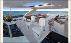 Ocean Alexander 85Euro-Fly Bridge-Custom Yacht Interior Design-Destry Darr Designs