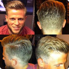 Men's Cut by Diane @ Milvali SF  http://milvali.com/