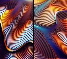 Wormholes on Behance
