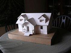 Foam Board Models Dolan Astwood Foam Core House Model