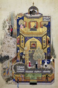 A Courtly Love, Soody Sharifi. #Iran #Contemporary art #art