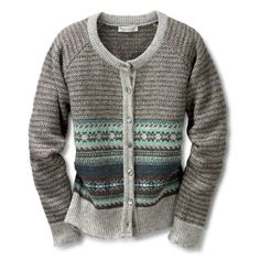 I love Fair Isle by Eribe. Love this color combination Fair Isle Knitting, Hand Knitting, Knitting Ideas, Knitting Projects, Intarsia Patterns, Fabric Embellishment, Knitwear Fashion, Knit Jacket, Lady