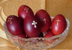 Different cultures around the world use the Ishtar/ Easter eggs as a symbol of new life and rebirth. Originally used in orgies by priest to impregnate young women for the purpose of providing the following years 3 month old infants as a sacrifice  to their gods at a sunrise service on the first Sunday following the Vernal Equinox. Eggs were dipped in this sacrificial blood as a fertility symbol of this ritual. Our white house still holds the tradition of staining their Ishtar eggs red.