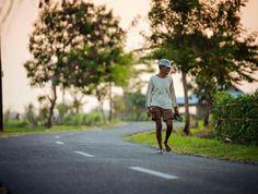 Morning stroll in Canggu Bali