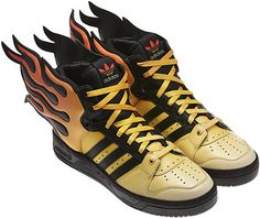 lowest price ad7f0 f1e43 Shoes On Fire  Adidas Originals Jeremy Scott Flames