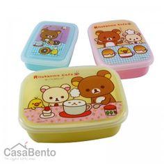 Bento Rilakkuma - Petit Déjeuner x 3 | Rilakkuma Bento Boxes - Breakfast x 3 $17.21