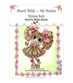 My-Besties Bashful Bettie Bestie Clear Stamps