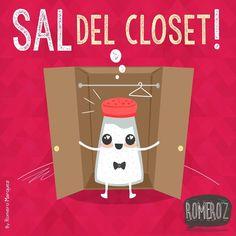 Sal Del Closet, Literalmente #ImagenDelDia