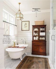 Shiplap on walls.Elements of Style Blog | Going Country. | http://www.elementsofstyleblog.com