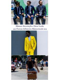 Männer Streetstyles aus Florenz! Impressionen vom Rande der 90. Pitti Uomo... Los geht's mit all den imposanten Streetstyles!