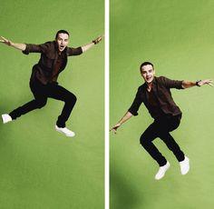 Li-Li's jump poses! <3