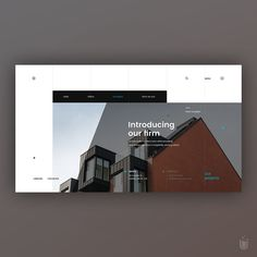 Mataj Architects⠀ -⠀ Design b Website Design Layout, Web Layout, Website Design Inspiration, Layout Design, Web Design Examples, Best Web Design, 2020 Design, Desktop Design, Interface Design