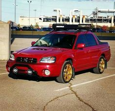 Subaru Baja Impreza Lifted Wrx Sti Mini Trucks