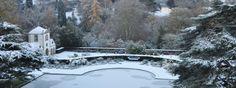 ... Bodnant Garden in the snow