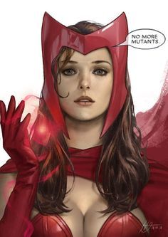 SWYou can find Scarlet witch and more on our website. Marvel Dc Comics, Bd Comics, Comics Girls, Marvel Art, Marvel Heroes, Marvel Avengers, Captain Marvel, Scarlet Witch Marvel, Marvel Women