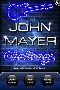 iTunes App Store - John Mayer Challenge
