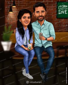 Wedding anniversary, anniversary, lovely couples, valentines, anniversary gift, Custom Caricatures illustration from photos, Save the date, Indian caricature, Caricature Wedding Gifts, Caricature Invite, guests sign in board, India Wedding, Kerala wedding, anniversary, starbucks, starbucks coffee, nitisebanart Wedding Anniversary, Anniversary Gifts, Office Cartoon, Actor Bio, House Balcony Design, Wedding Caricature, Birthday Cartoon, Lord Shiva Hd Wallpaper, India Wedding