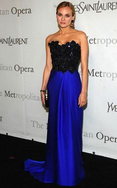 Diane Kruger / 2009 Metropolitan Opening Gala