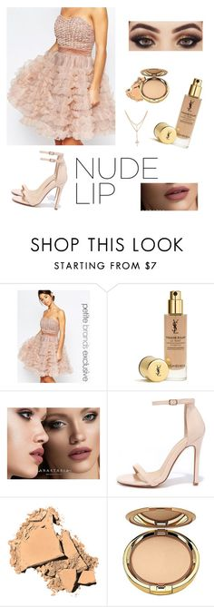 """""""Set#267 #nudelip"""" by anneclo2 ❤ liked on Polyvore featuring beauty, True Decadence, Anastasia Beverly Hills, Liliana, Bobbi Brown Cosmetics, Milani and nudelip"""