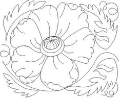 Shop | Category: Flowers / leaves | Product: Poppy 8 Bdr