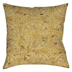 Valencia Medallion Printed Throw Pillow