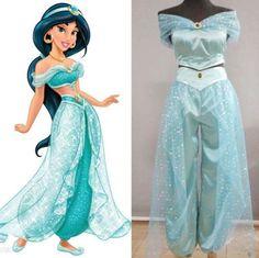 Women-Aladdin-Jasmine-Princess-Costume-Disney-Halloween-Festival-Party-Dresses