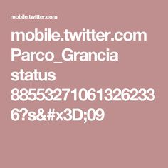 mobile.twitter.com Parco_Grancia status 885532710613262336?s=09