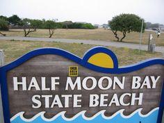 Local sticker half moon bay