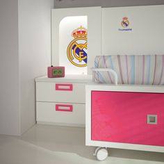 Real Madrid fans bedroom