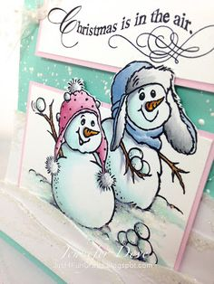 Just4FunCrafts and DoveArt Studios: SnowBall Fight