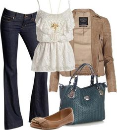 My Style. love those jeans