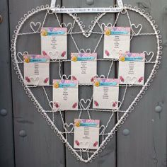 Vintage Wire Heart Table Plan / Photo Holder by Luck and Luck, http://www.amazon.co.uk/dp/B004JN2SMW/ref=cm_sw_r_pi_dp_rcM.rb15ZP5X5
