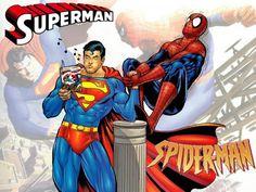 Algunas veces que DC Comics y Marvel han cruzado sus mundos  Superman Vs. el Asombroso Spiderman