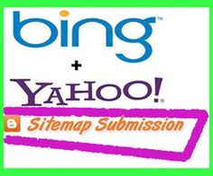 Submit sitemap to Bing and yahoo its really easy and simle. Webmaster Tools, Online Income, Seo Tips, Blogger Templates, Free Blog, How To Start A Blog, Learning, Blogging, Easy
