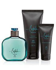 Presente Natura Biografia Desperte Masculino - Desodorante Colônia + Shampoo + Gel Fixador + Embalagem