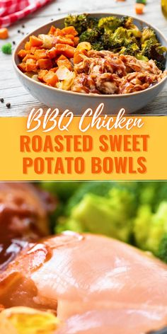 Quick Weeknight Meals, Easy Healthy Dinners, Quick Easy Healthy Dinner, Chicken And Sweet Potato Recipe Healthy, Dinner Ideas Healthy, Sweet Potato Recipes Healthy, Healthy Vegetable Recipes, Healthy Chicken Dinner, Healthy Crockpot Recipes