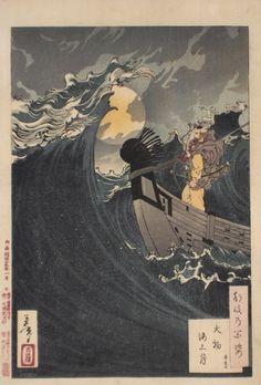 Tsukioka Yoshitoshi (1839-1892)  fromTsuki Hyakushi (One Hundred Aspects of the Moon)