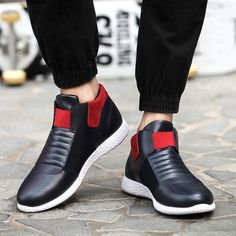 257eff6e51836e Casual laceless elastic sneakers for a stylish look - Easy slip-on access -