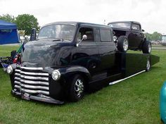 "coe truck   mon second COE ""Chevy 50 ramp truck XXL"""