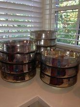 Mercury Glass Bowls